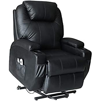 Amazon Com Lch Lift Chair Recliner For Elderly Pu Leather