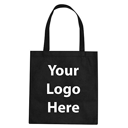 Promotional Tote Bag - 100 Quantity - $1.35 Each - PROMOTIONAL PRODUCT / BULK / BRANDED with YOUR LOGO / CUSTOMIZED.
