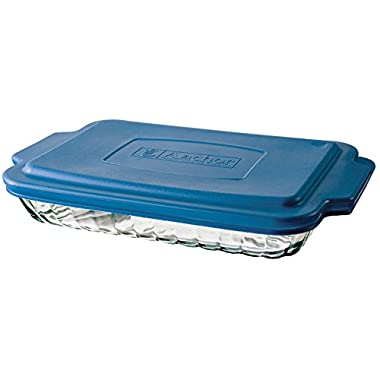 Anchor Hocking 3 Quart Bake-N-Take Dish with Snap On Cover