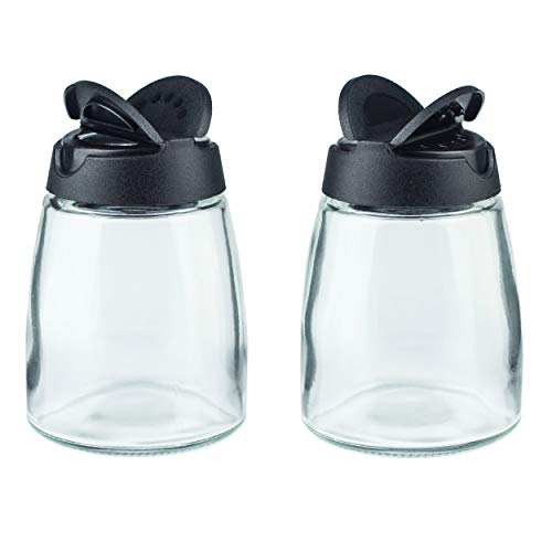 - Salt & Pepper Shakers, Moisture-Proof Condiment holders, 2/pack