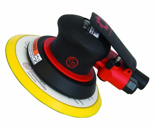 Chicago Pneumatic CP7255 Random Orbital Sander- 3/16 Orbit- 6-Inch Pad by Chicago Pneumatic