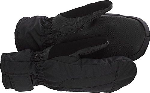 Burton Profile Under Mitt Snowboard Mittens - True Black, Women's Large (Profile Under Snowboard Gloves)