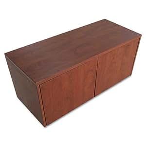 Alera VA263615MC - Valencia Series Wall Mount Storage Cabinet 35-1/4 x 15 x 17, Medium Cherry