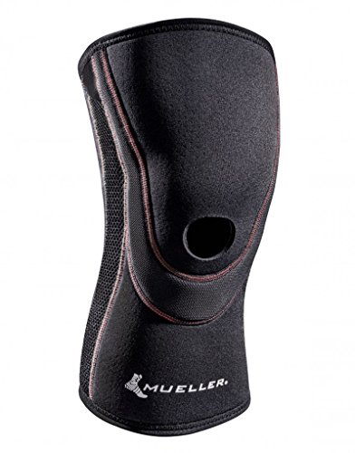Mueller Sports Medicine Breathable Open Patella Knee Sleeve, Large, 0.47 Pound (Sleeve Open Patella Mueller Knee)
