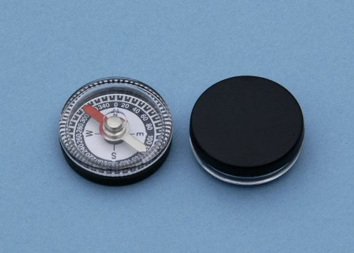 Dozen 20 mm Diameter Small Inexpensive Air damped Magnetic Plastic Compasses Great for Survival Kits