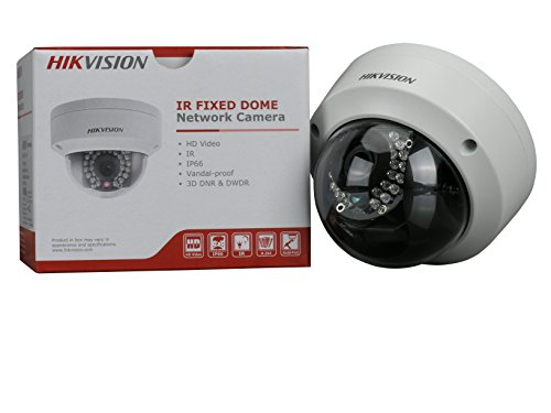 - Hikvision DS-2CD2132F-I (4MM) Outdoor Dome Camera, 3MP/1080P, H.264, 4 mm Fixed Lens, Day/Night, IR to 30M, 3 Axis Gimbal, USD Slot, IP66 Standard, POE/12VDC