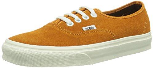 Vans U Authentic, Zapatillas Unisex Adulto Orange ((Vintage Suede) F1D)