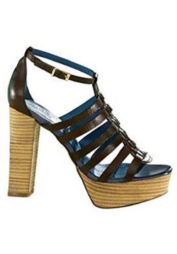 Ankle-strap sandal from Rick Carcona with Platform in brown Brown Rpxbh42jM