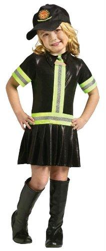 Fire Girl Child Costume - Small