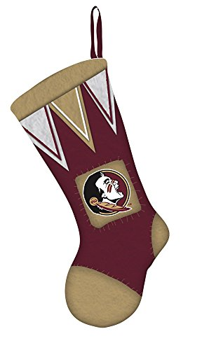 Team Sports America Florida State Seminoles Microfleece Christmas Stocking