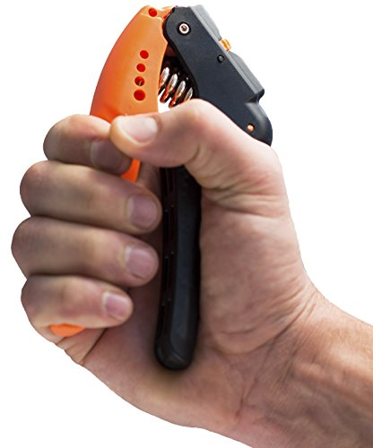 Hand Grip Strengthener Quickly Increase Hand Wrist Finger Forearm Strength With The Best Hand Exerciser Easy Adjustable Resistance From 22 to 70 Lbs (10 32 Kg) Perfect for Musicians Athletes and Hand Rehabilitation Exercising