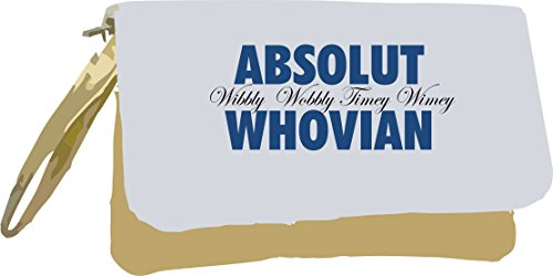 Bag Clutch Themed Alcohol Gold Gold Whovian Statement Absolut Metallic Parody wSqYpf1
