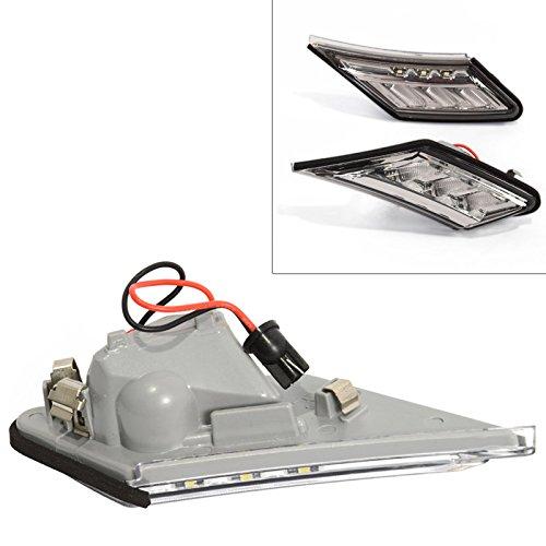 BRZ FRS FR-S GT86 13-16 LED Strip Side Marker Signal Light JDM Conversion Smoke