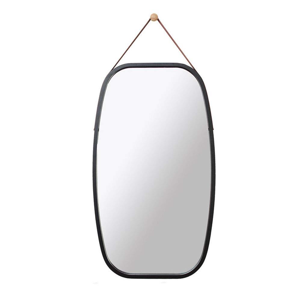 C GSHWJS Mirror Wall Hanging Square Mirror Bathroom Mirror Vanity Mirror A Variety of colors Optional 43x74cm Wall Mirror (color   B)
