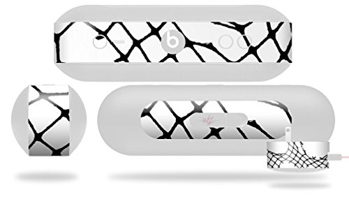 Ripped Fishnets Decal Style Skin - fits Beats Pill Plus (BEATS PILL NOT INCLUDED) by WraptorSkinz