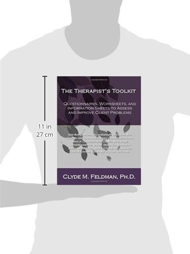 The Therapist's Toolkit: Questionnaires, Worksheets, and ...