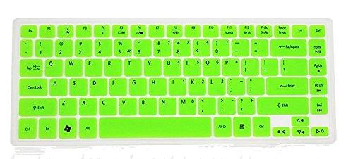 - Leze Ultra Thin Keyboard Protector Skin Cover for for Acer Aspire 4736Z 4736G 4738ZG 4738G 4739Z 4733Z 4743G 4745G 4749G 4750G 4752G 4535 4535G 4540G 4551G 4625G 4250 4253 Semi Green
