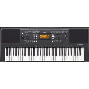 yamaha psre 343 61 key portable keyboard. Black Bedroom Furniture Sets. Home Design Ideas