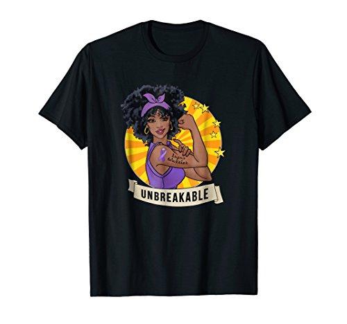 Lupus Warrior Unbreakable T-shirt Awareness ()