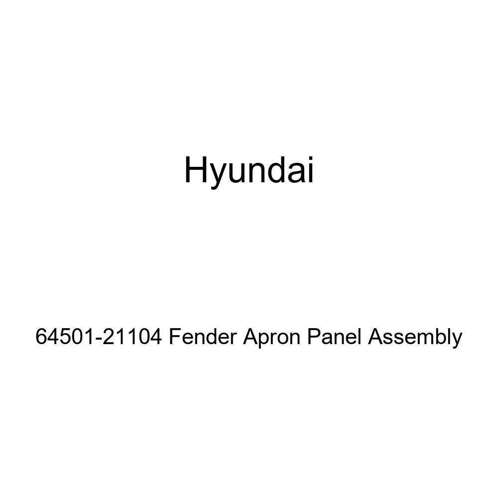 Genuine Hyundai 64501-21104 Fender Apron Panel Assembly