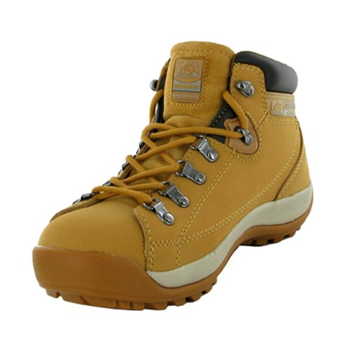 803b82c208b New Mens Tan Steel Toe Cap Safety Work Boots Size 9 Uk
