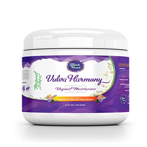 Vulva Balm Cream - Vaginal Moisturizer - Organic & Natural - Intimate Skin Cream - Estrogen Free Treatment - Helps Reduce Vaginal Dryness & Itching - Vulva Harmony