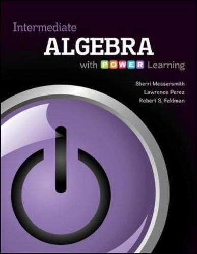 Intermediate Algebra with P.O.W.E.R. - College Hut