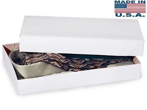 A1BakerySupplies White Shirt Boxes, 10 Pack