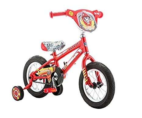 "12"" Paw Patrol Marshall Boys' Bike"