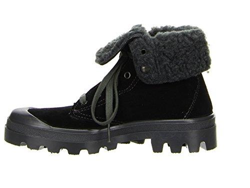 Lace Up Boots Black - Black cxllMR