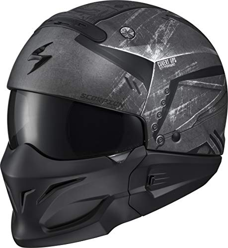 (Scorpion Covert Adult Street Motorcycle Helmet - Incursion Phantom/X-Large)