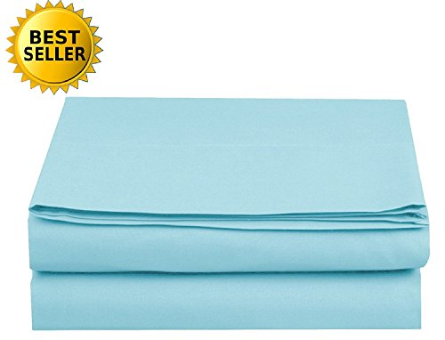 Elegant Comfort Luxury Flat Sheet Wrinkle-Free 1500 Thread Count Egyptian Quality 1-Piece Flat Sheet