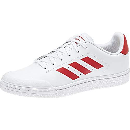Ftwbla para Hombre Zapatillas de 000 Blanco Deporte Ftwbla Court70s Escarl Adidas 0qSIpw7S