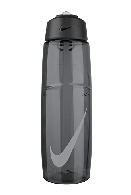 cfc0a11513 Buy Nike T1 Flow Swoosh Water Bottle (Anthracite / Wolf Grey), 32oz/Black  Online at Low Prices in India - Amazon.in