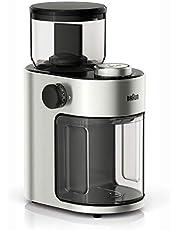 Braun Burr Coffee Grinder - KG7070, Stainless Steel/Black