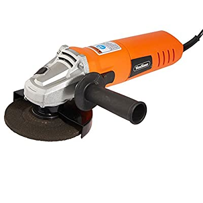 VonHaus 6 Amp 4-1/2 inch Angle Grinder - Corded Multi Purpose Grinding Tool with 1 x Blade Included by Designer Habitat Ltd
