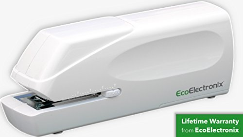 EX-25 Automatic Heavy Duty Electric Stapler - Includes Staples, AC Power Cable + Extended Warranty...