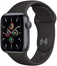Novo Apple Watch SE - GPS, 40 mm - Caixa de Alumínio Cinza Espacial com Pulseira Esportiva Preta