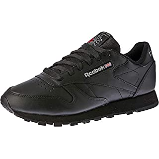 Reebok Men's Classic Leather Sneaker, INT-BLACK, 14