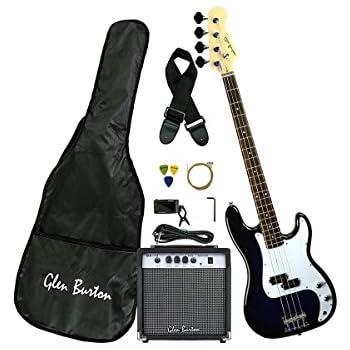 fender squier j beginner bass guitar pack sunburst musical instruments. Black Bedroom Furniture Sets. Home Design Ideas