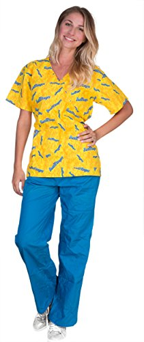 nestle-womens-scrub-sets-medium-butter-fingers