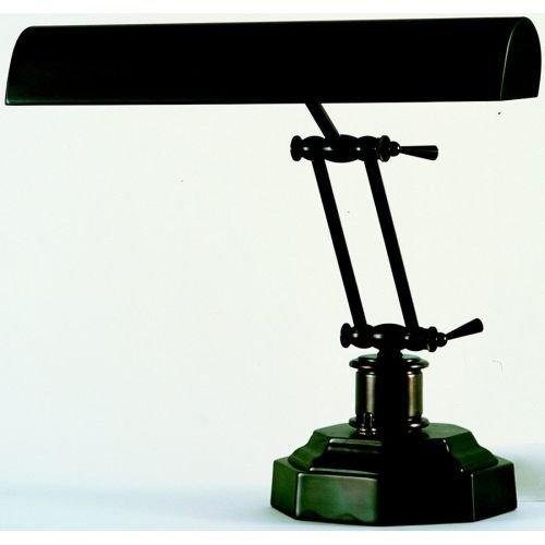 House of Troy P14-203-81 12-1/2-Inch Portable Desk/Piano Lamp Mahogany Bronze - Bronze Piano Lamp