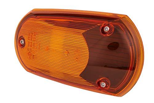 HELLA 2BM 008 355-001 extra knipperlicht – P21W – 12V/24V – lichtvensterkleur: geel – montage – inbouwplaats…