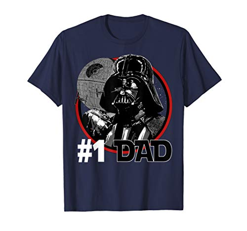 Star Wars Darth Vader #1 Dad Death Star Graphic T-Shirt