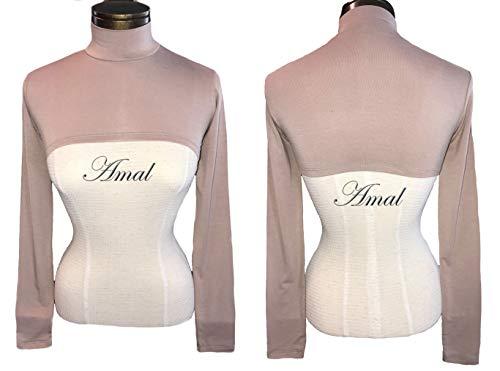 AMAL Muslim Arm Sleeves Hijab Islamic Shoulder Long Sleeve Arm Cover Cape Bolero US