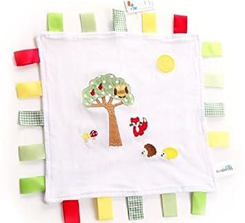 SLUMBERTAG Baby Comforter Security Blanket Pink Elephant
