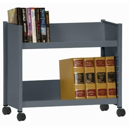 Sandusky Lee SR227-02 Sloped Shelf Welded Bookcase, 14