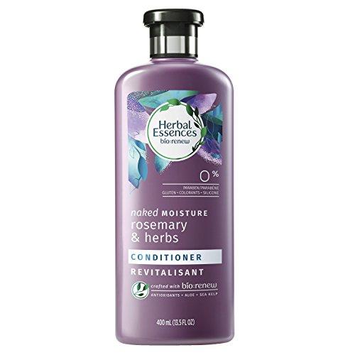 Moisture Essence - Herbal Essences Biorenew Rosemary & Herbs Naked Moisture Conditioner, 13.5 FL OZ