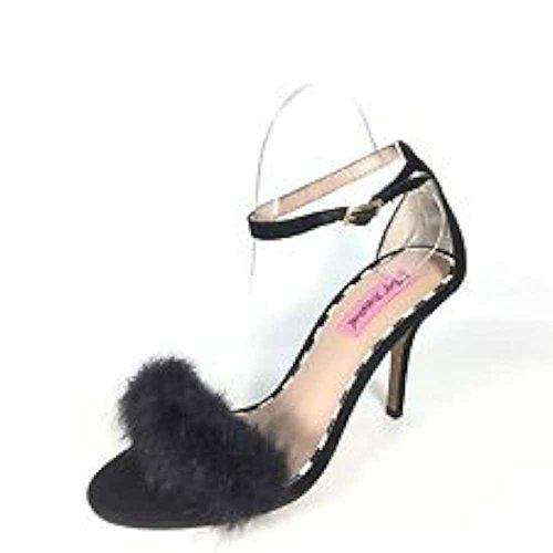 Betsey Johnson - Sandalias de vestir para mujer negro
