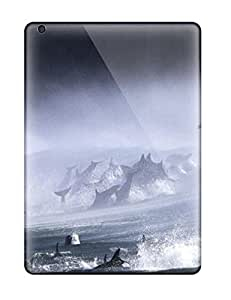 Lennie P. Dallas's Shop Sanp On Case Cover Protector For Ipad Air (artistic Bottlenose Dolphins Surf)